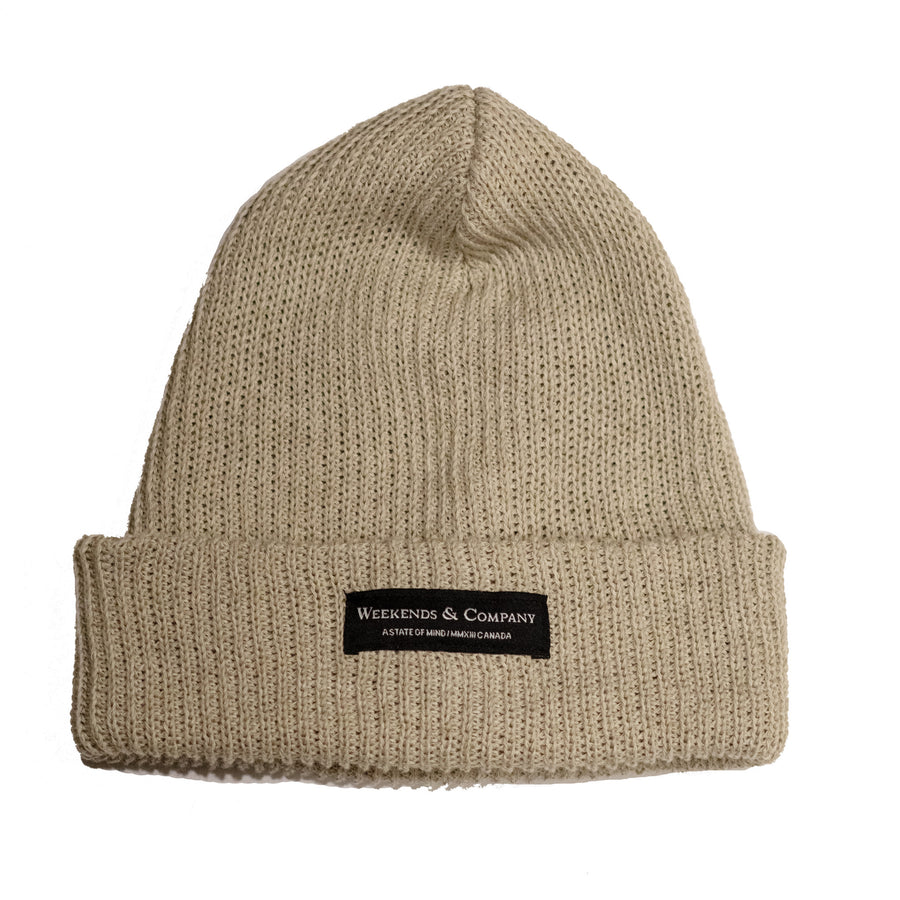 Weekends Beanie - Sandbanks