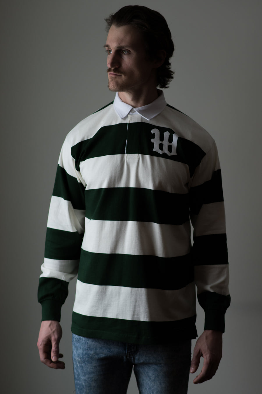 Weekends Rugby Jersey - Thistle Green