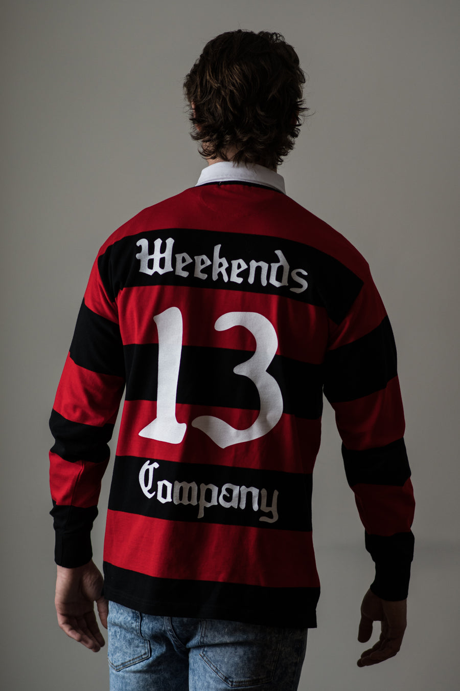 Weekends Rugby Jersey - Butcher Red