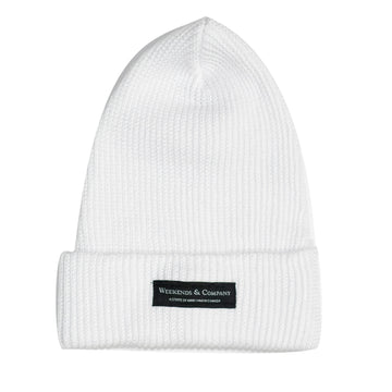 Weekends Beanie - Storm Trooper White