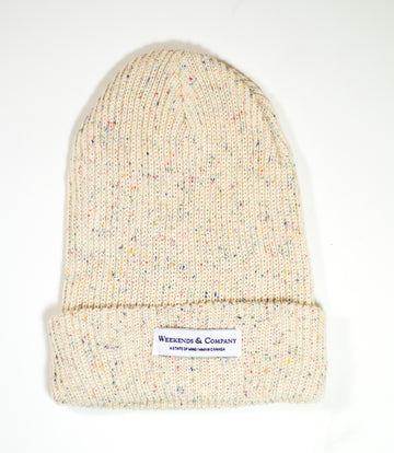 Weekends Beanie - Birthday Cake