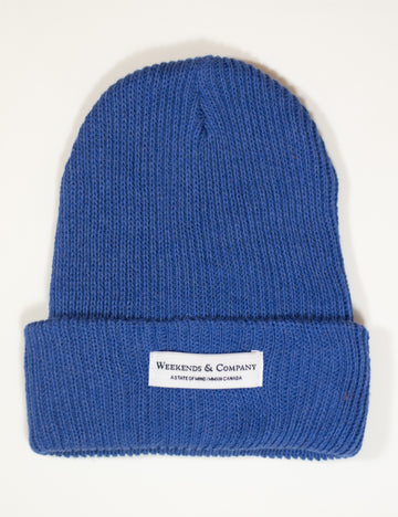 Weekends Beanie - Royal Smurf