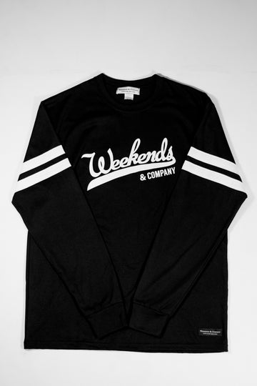 Major League L/S Tee - Black