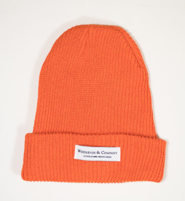 Weekends Beanie - Basketball