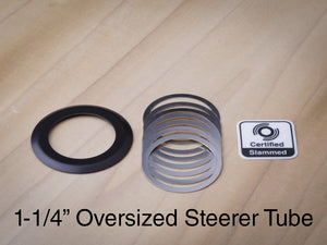"1-1/4"" Headset Bearing Cover- Black"