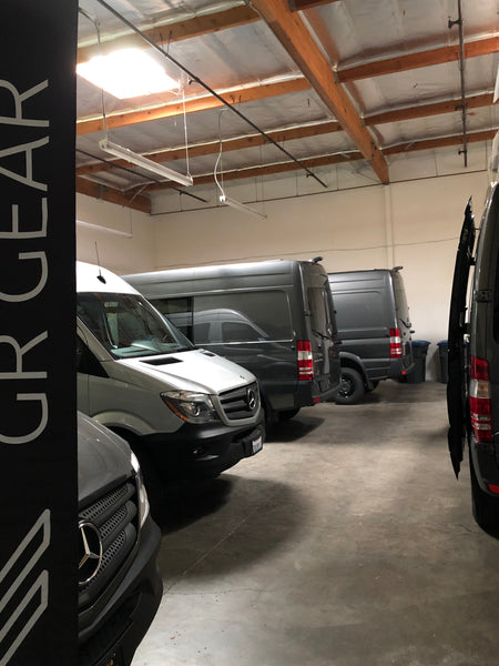 Sprinter camper van conversions by GR GEAR - Choose from our line of vans ready for upfitting