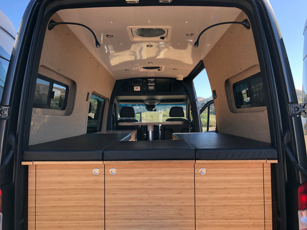Luxury travel vans by GR GEAR - Mercedes Sprinter van conversions