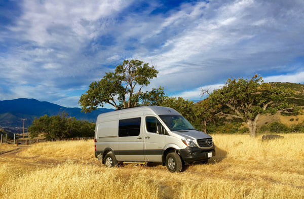GR GEAR Kumano Kodo Sprinter Camper Van Conversion For Sale in the San Francisco Bay Area