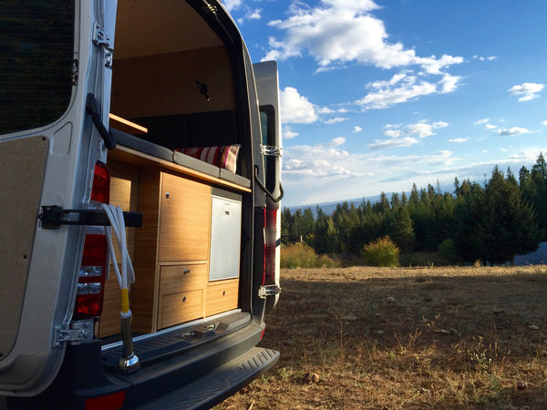 Custom made Sprinter camper vans by GR GEAR in northern California