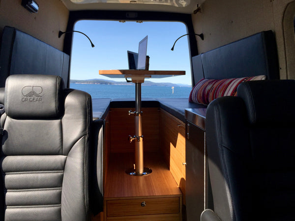GR GEAR custom designed van rv conversions in the San Francisco Bay Area
