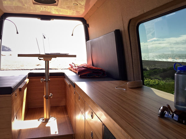 Customized Sprinter van rv conversions by GR GEAR