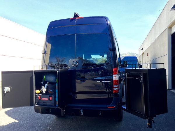 ALUMINESS products for Sprinter camper vans by GR GEAR - van conversions in Northern California