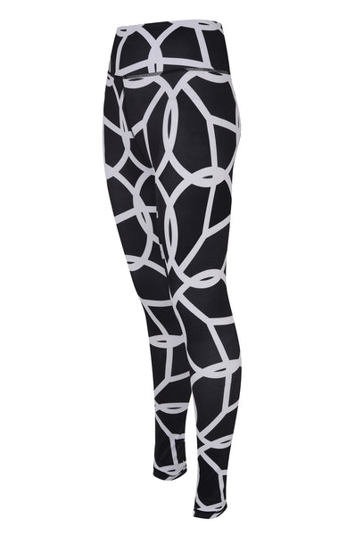 Large Scale High Waisted Legging