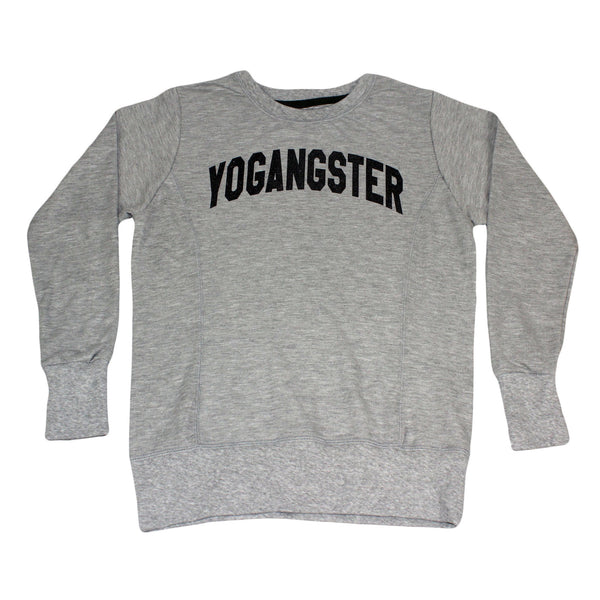 Womens Grey Yogangster Sweatshirt