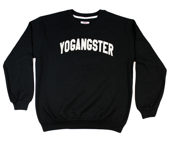 BLACK YOGANGSTER SWEATSHIRT