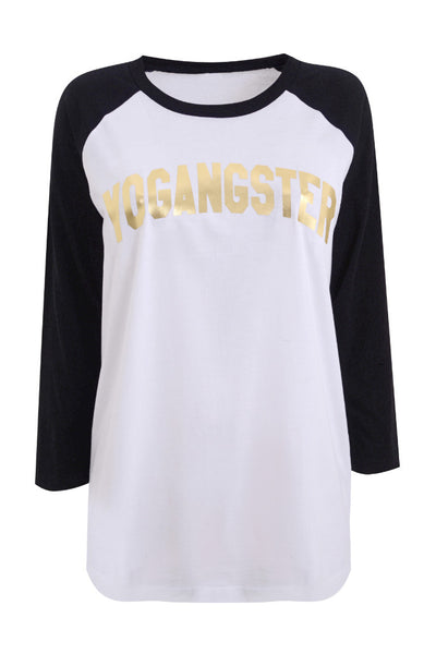 Yogangster Baseball Shirt