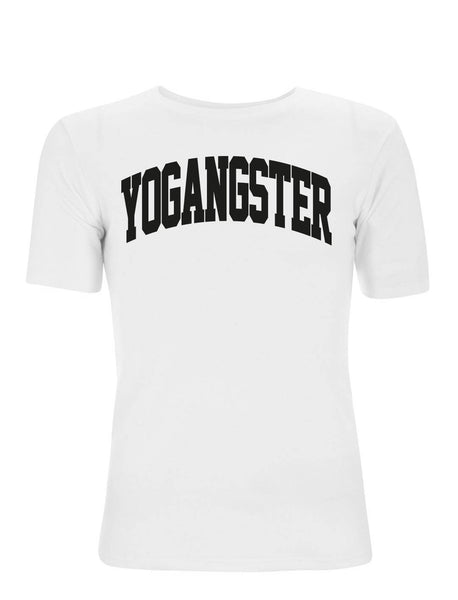 CLASSIC T-SHIRT WITH VELVET VARSITY DESIGN