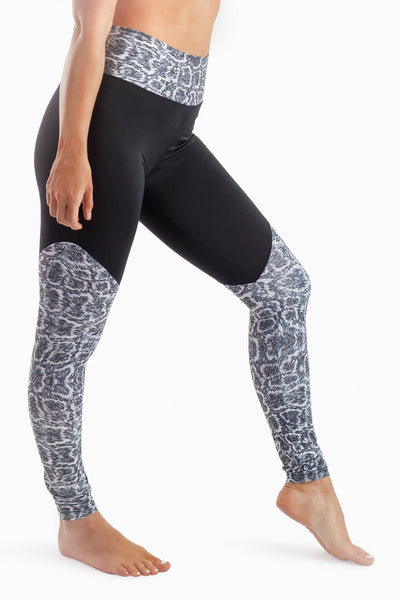 Riji High Waisted Panel Legging