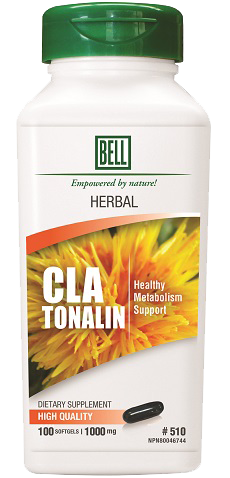 Bell #510  CLA Tonalin 100 softgels, Vitamins and Supplements, Bell Lifestyle Products - Brentwood Health and Wellness