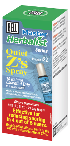 Bell #22 Quiet Z's Spray, , Vitamins and Supplements, Bell Lifestyle Products, Brentwood Health and Wellness