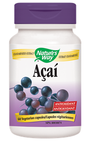 Nature's Way Acai 60 capsules, , Vitamins and Supplements, Nature's Way, Brentwood Health and Wellness