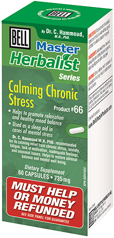 Bell #66 Calming Chronic Stress, , Vitamins and Supplements, Bell Lifestyle Products, Brentwood Health and Wellness