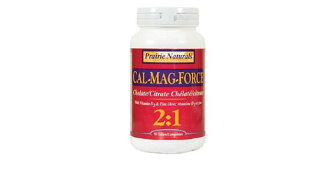 Prairie Naturals Cal/Mag Force 2:1 90 tabs, Vitamins and Supplements, Prairie Naturals - Brentwood Health and Wellness