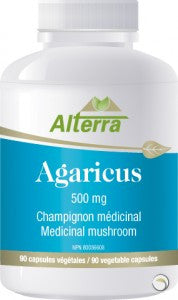 Alterra Agaricus 500 mg, , Vitamins and Supplements, Alterra, Brentwood Health and Wellness