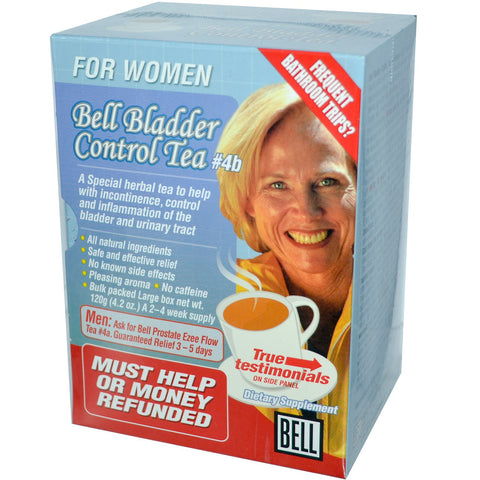 Bell #4B Bladder Control Tea for Women, , Teas, Bell Lifestyle Products, Brentwood Health and Wellness