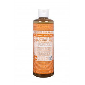 Dr. Bronner's Almond Oil Castile Soap Liquid 472ml, , Health and Beauty, Christmas, Brentwood Health and Wellness