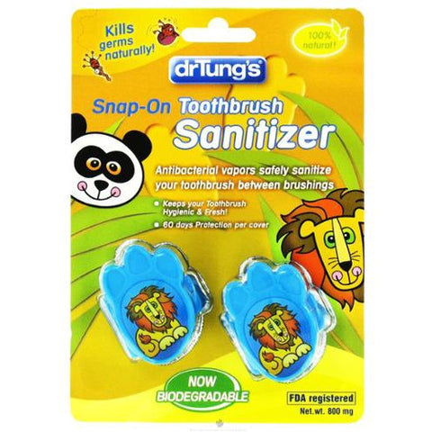 Dr. Tung Kids Snap On Toothbrush Sanitizer, , Health and Beauty, Christmas, Brentwood Health and Wellness