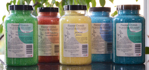 Finesse Crystals, , Aromatherapy and Massage Oils, Finesse Lamps, Brentwood Health and Wellness