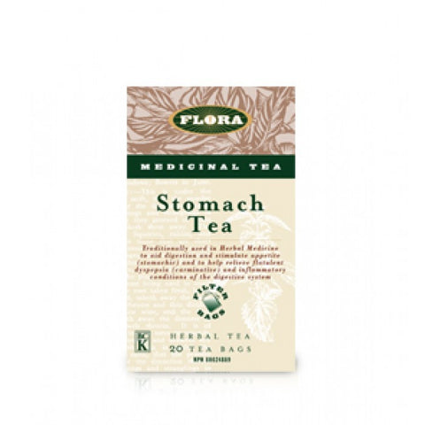 Flora Stomach Tea 20 Tea Bags, , Teas, Flora Manufacturing & Distributing Ltd., Brentwood Health and Wellness