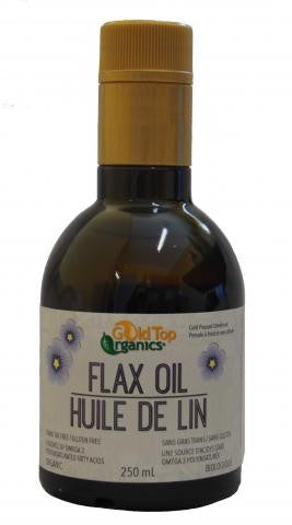 Gold Top Organic Flax Seed Oil 500ml, , Foods and Grains, Christmas, Brentwood Health and Wellness