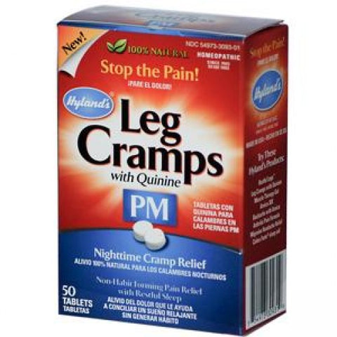 Hylands Leg Cramps 50 Tabs, Homeopathy, Hylands - Brentwood Health and Wellness