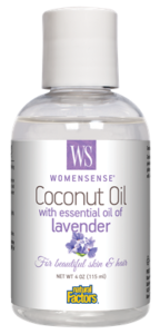 Women Sense Coconut Oil with Essential Oil of Lavender