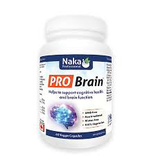 Naka Pro Brain 60 Capsules, , Vitamins and Supplements, Brentwood Health and Wellness, Brentwood Health and Wellness