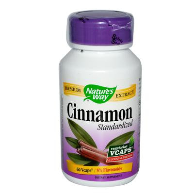 Nature's Way Cinnamon 60 capsules, , Vitamins and Supplements, Nature's Way, Brentwood Health and Wellness
