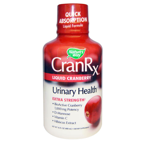 Nature's Way CranRx Liquid 16 oz, , Vitamins and Supplements, Nature's Way, Brentwood Health and Wellness