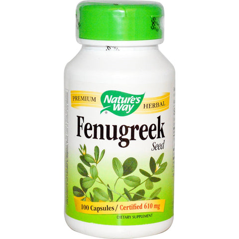 Nature's Way Fenugreek 100 capsules, , Vitamins and Supplements, Nature's Way, Brentwood Health and Wellness