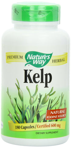 Nature's Way Kelp 100 vegicaps, , Vitamins and Supplements, Nature's Way, Brentwood Health and Wellness