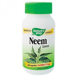 Nature's Way Neem Margosa 475mg 100 caps, Vitamins and Supplements, Nature's Way - Brentwood Health and Wellness