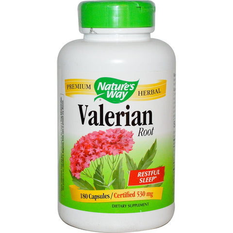 Nature's Way Valerian 530 mg 180 cap, , Vitamins and Supplements, Nature's Way, Brentwood Health and Wellness