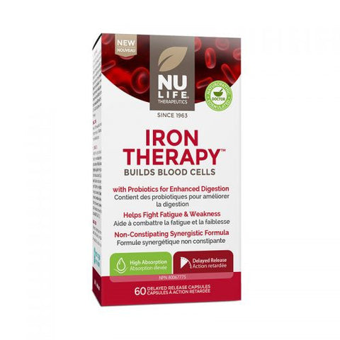 NU Life Iron Therapy 60 Caps