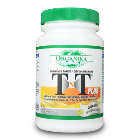 Organika TNT (Tribulus Terrestris) Plus 60 capsules, , Vitamins and Supplements, Organika, Brentwood Health and Wellness