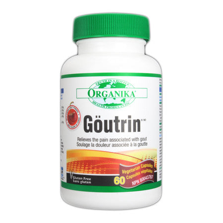 Organika Goutrin 60 capsules, , Vitamins and Supplements, Organika, Brentwood Health and Wellness