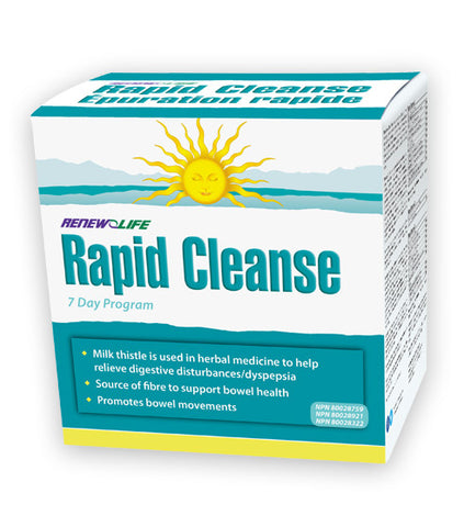 Renew Life Rapid Cleanse 7 day program, , Vitamins and Supplements, Renew Life, Brentwood Health and Wellness