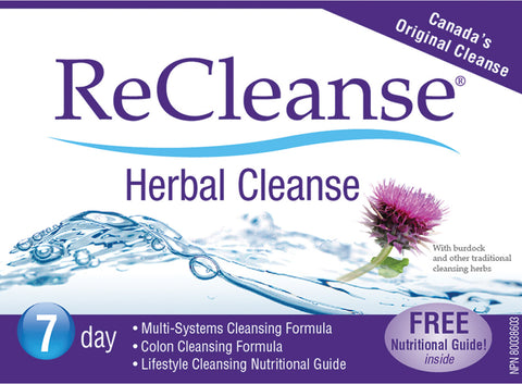 Prairie Naturals ReCleanse 7 Day Herbal Cleanse, , Vitamins and Supplements, Prairie Naturals, Brentwood Health and Wellness