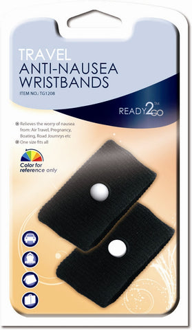 Relaxus Ready 2 Go Anti Nausea Wrist Band, Health and Beauty, Relaxus - Brentwood Health and Wellness