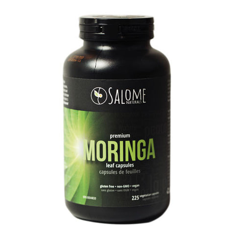 Salome Naturals Moringa Leaf 225 capsules, , Vitamins and Supplements, Christmas, Brentwood Health and Wellness
